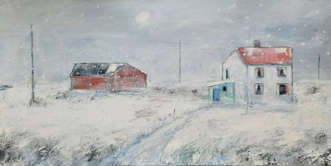 Bilde av Vinterhus av Gunn Vottestad
