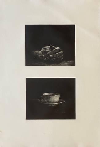 Bilde av Bare kaffe, bare hender av Ole Rosén