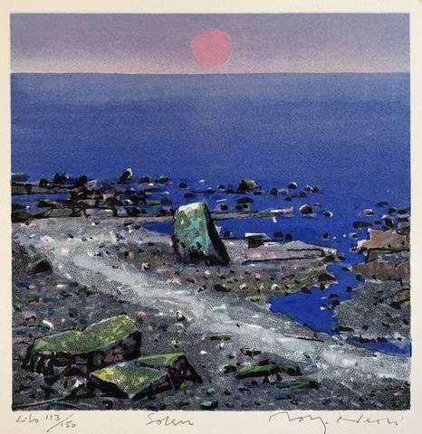 Bilde av Solen av Rolf Nerli