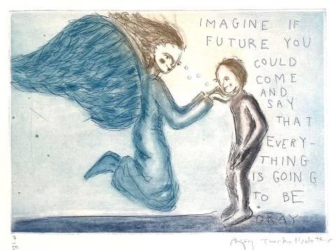 Bilde av Imagine if future you could come and say ...av Bjørg