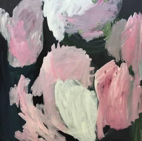 Bilde av Bukett 1, maleri av Eline Smith