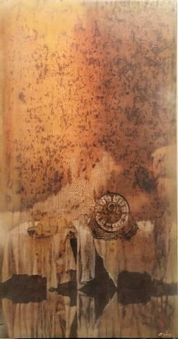 Bilde av Svale sommerkveld, med dine ord summende i luften av